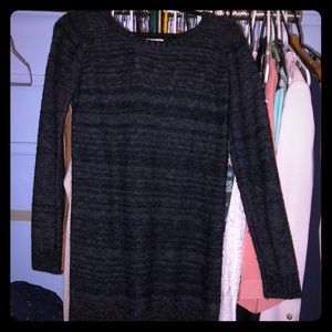 Black knitted dress/top